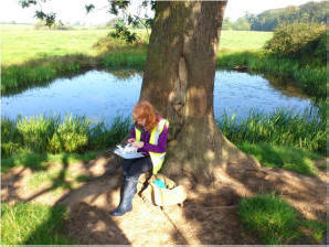 Outdoor learning and botanical, pond surveys and water quality testing